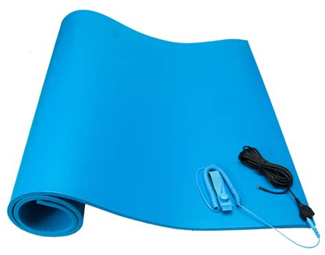 Anti Static Wrist And Mat Combination by Esd Mats Esd Mat Kits