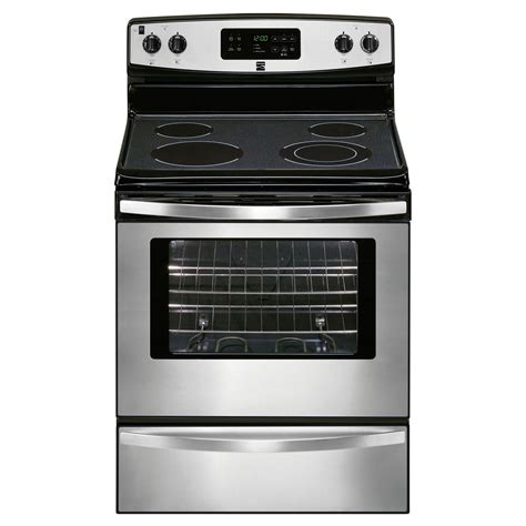 Who Makes Kenmore Cooktops kenmore 92203 5 3 cu ft electric range sears outlet