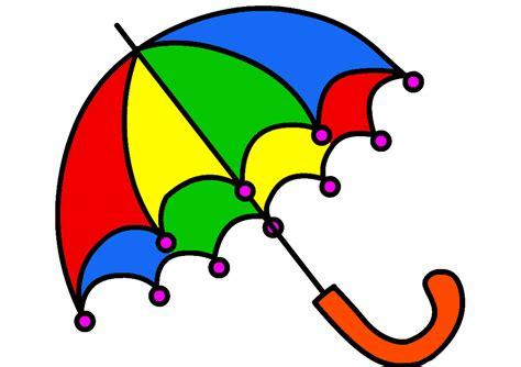 Payung Anak Hologram Gambar Kartun gambar mewarnai payung untuk anak paud dan tk