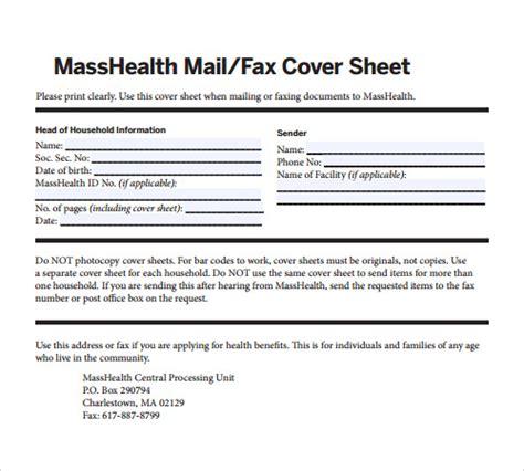 sle masshealth fax cover sheet blank fax cover sheet pdf gantt chart excel