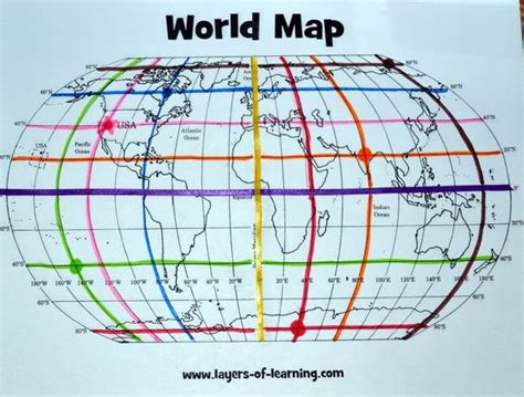 free printable world map and mapping activity for learning