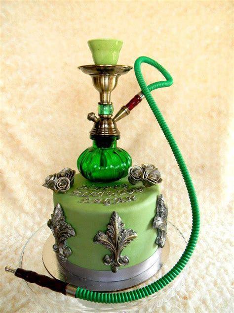 shisha kuchen 9 besten ارجيله hookah cake bilder auf