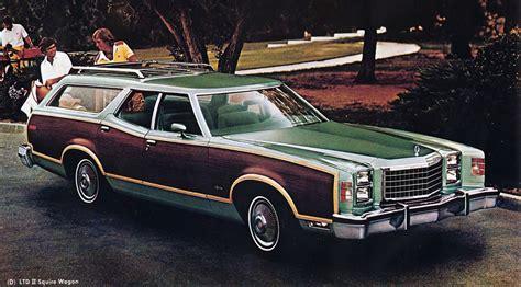 dark green station wagon 1976 ford station wagon information and photos momentcar