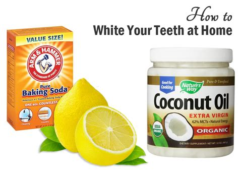 how to whiten your teeth at home the bandit lifestyle
