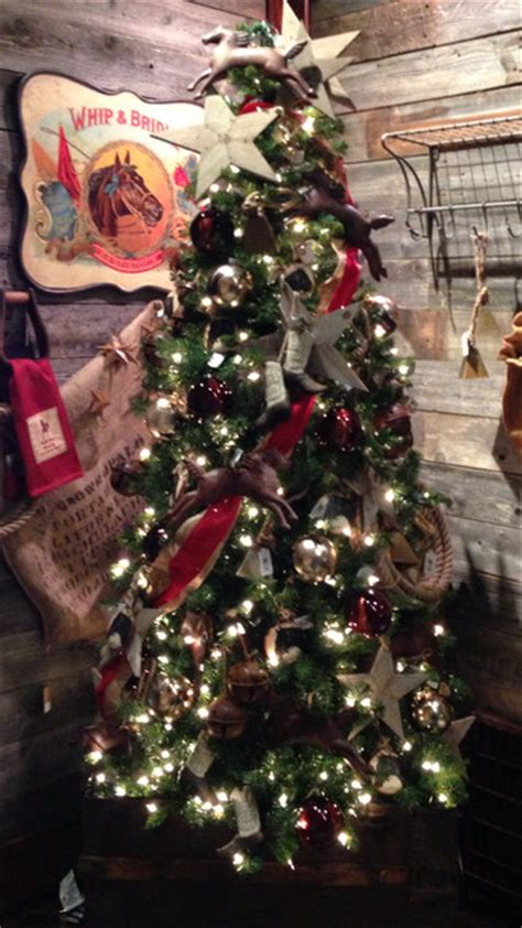 western christmas decorating ideas western decor rustic atlanta by iron accents