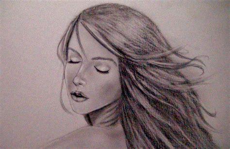imagenes a lapiz de personas como dibujar un rostro sensual de mujer tutorial paso a