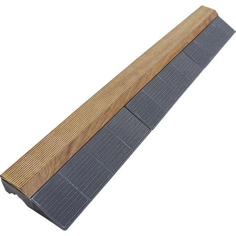 xtiles terrasse bordure finition 224 clipser 118x39cm pin classe 3 xtiles