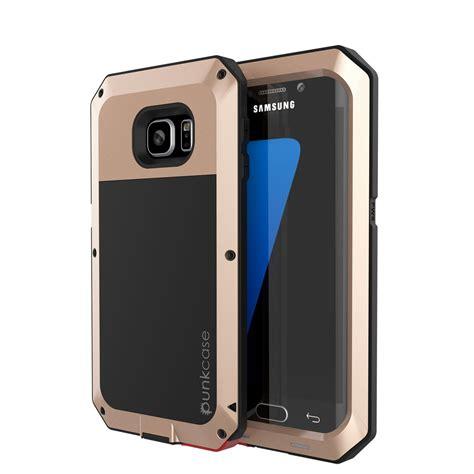 Casing Samsung S7 Edge In The Johto Custom Hardcase galaxy s7 edge punkcase metallic gold shockproof slim metal
