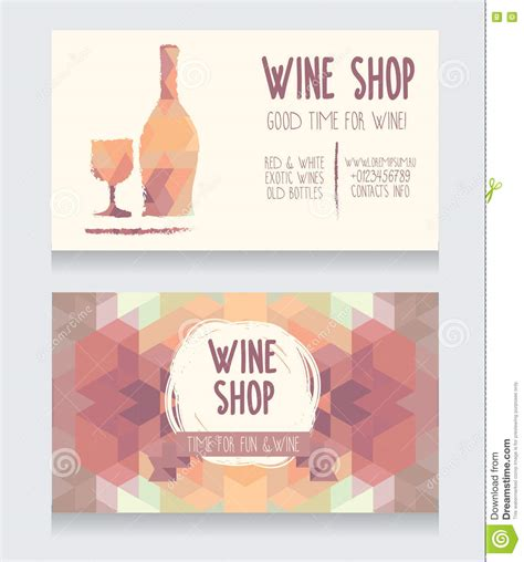wine business card templates free free business card template wine gallery card design and