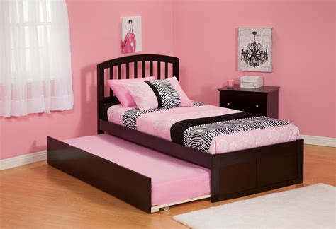 pink trundle bed platform bed with trundle pink bedroom ideas and