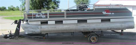 bass boats for sale midwest 1990 bass buggy sun tracker dl pontoon boat item 7158