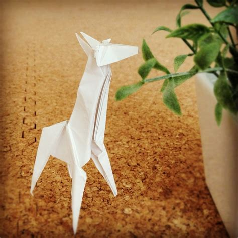 Dollar Bill Origami Giraffe - les 25 meilleures id 233 es de la cat 233 gorie giraffe origami