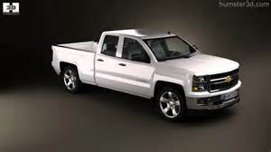 chevrolet silverado extended cab z71 2014 by 3d model