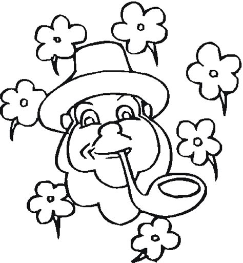 St Patrick S Day Coloring Pages Coloring Ville St Patricks Coloring Pages