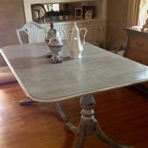chalk paint dining room table painted furniture