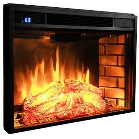 akdy 28 quot black electric firebox fireplace in depth review