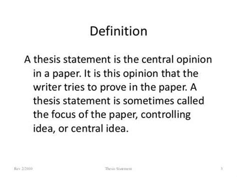 dissertion definition essay thesis statement definition source