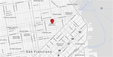 kimpton hotels san francisco map san francisco hotels in union square kimpton sir francis