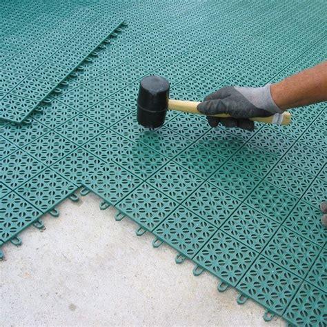 piastrelle in plastica per esterno pavimento plastica per giardino autobloccante e drenante