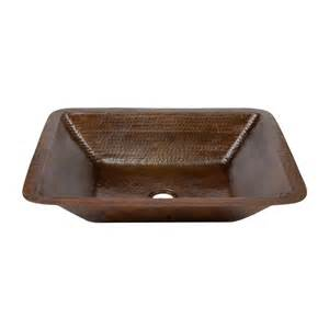 bronze undermount bathroom sink shop premier copper products rubbed bronze copper