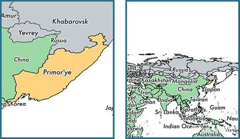 primorsky krai administrative territory russia map  primorsky krai ru   primorsky