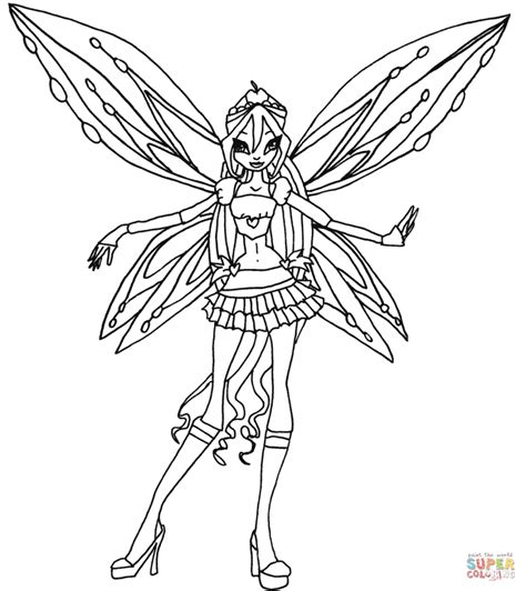 coloring pages for winx club coloring pages winx coloring pages winx mythix