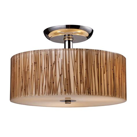 titan lighting modern organics 3 light polished chrome