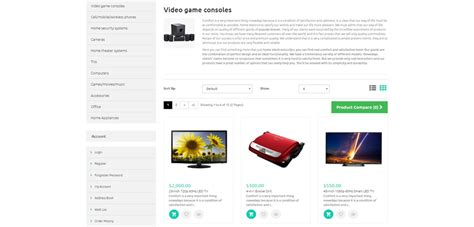 electronic store premium responsive opencart template