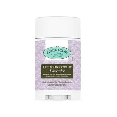 Living Deodorant Detox by Buy Living Clay Co Detox Deodorant Lavender 4 Oz