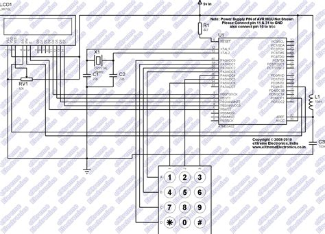4 x 3 keypad schematic get free image about wiring diagram