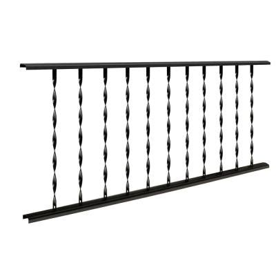ironsmith classic 4 ft w x 28 in h black steel