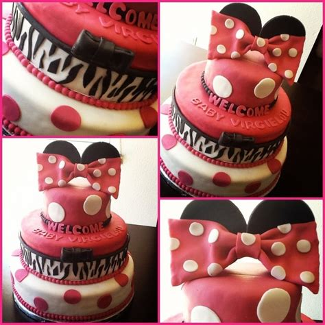 minnie mouse decor cakecentral com minnie mouse themed baby shower cakecentral com