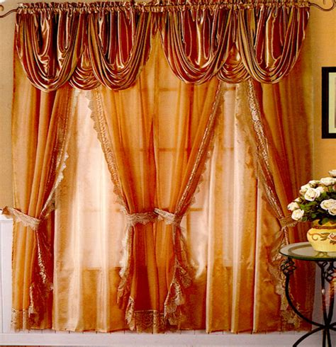 drapes with attached valance the best way to make curtains with attached valances