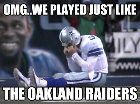 Funny Oakland Raiders Memes - raider memes google search raiders pinterest
