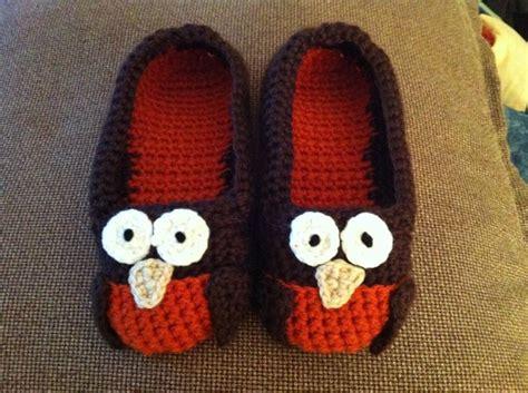 crochet owl slippers owl slippers free pattern knit crochet socks