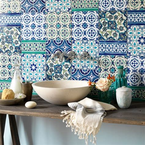 moroccan tile bathroom country bathroom with moroccan tiles bathroom colour