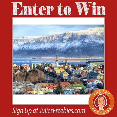 Iceland Adventure Sweepstakes - choose your travel adventure sweepstakes julie s freebies