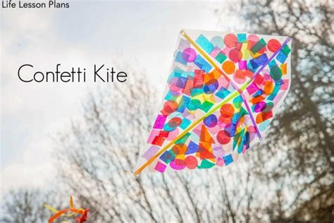 kite confetti kite fun crafts kids