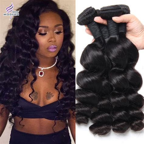 loose wave braiding hair 8a brazilian loose wave virgin hair 4 bundles brazilian