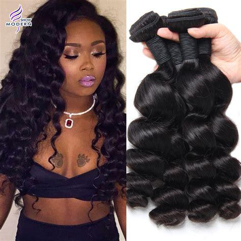 weave hair shows 2015 8a brazilian loose wave virgin hair 4 bundles brazilian