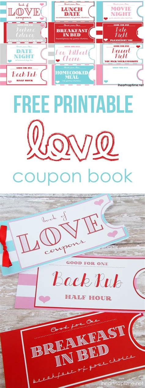free printable valentine love coupons printable love coupon book boyfriends printable coupons