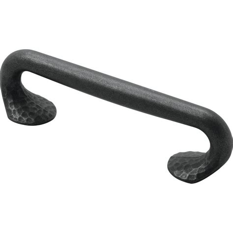 Kitchen Faucets At Lowes Hickory Hardware Craftsman 96 Mm Black Iron Pull P2173 Bi