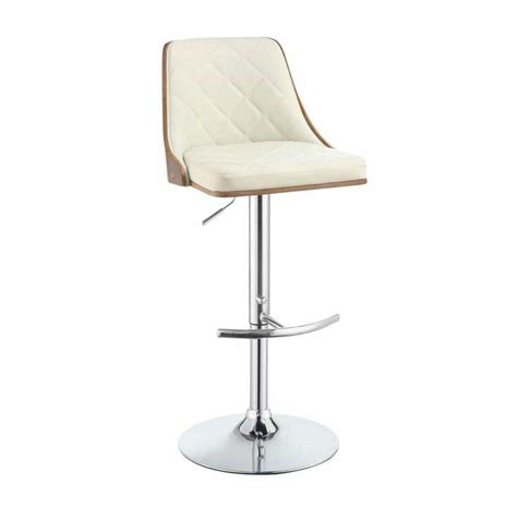 modern bar stool modern black adjustable bar stool co 410 bar stools