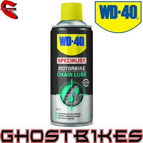 WD 40 SPECIALIST HIGH PERFORMANCE MOTORBIKE MOTORCYCLE