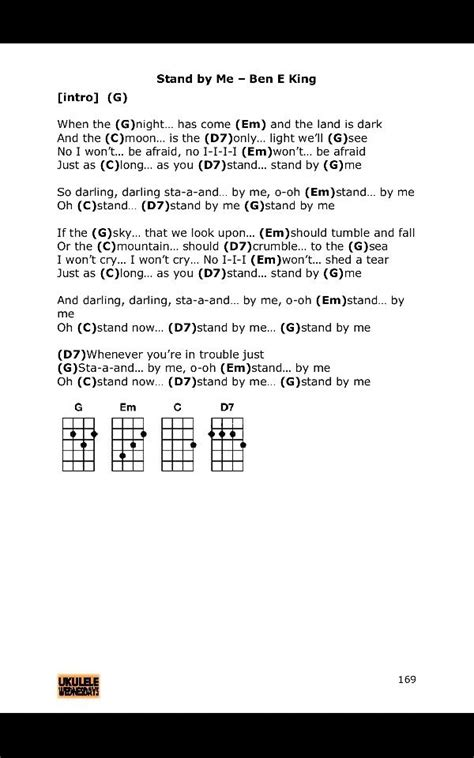 Attractive Stand By Me Uke Chords Frieze - Song Chords Images - apa ...