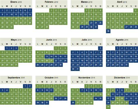 Calendario Temporada Calendario 2018 De Temporada Baja Y Alta De Iberia Y
