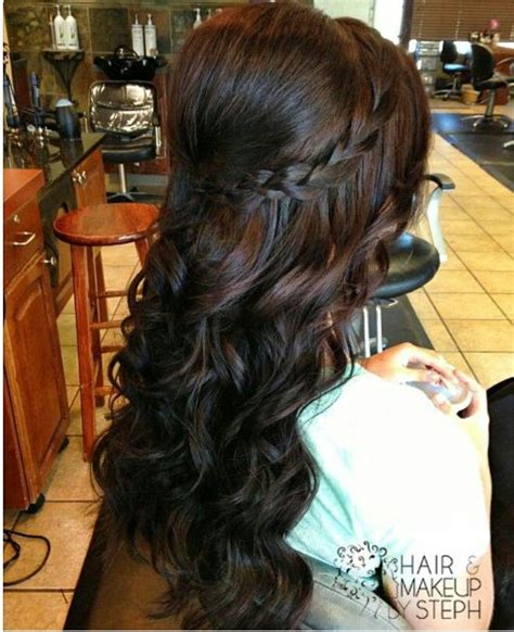 homecoming hairstyles for long hair half up 17 fancy prom hairstyles for girls pretty designs
