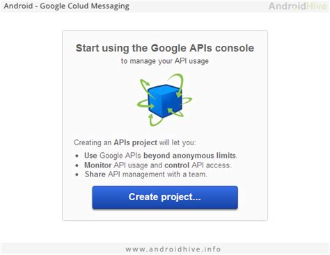 android api console konda reddy sending android push notification in my