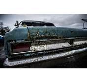 HD American Classic Car Overgrowth Abandon Deserted Urban