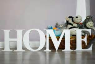 Letters Home Decor by Personalizing Interior Decorating With Diy Wooden Letters